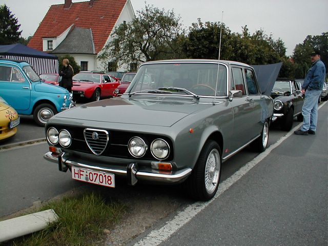 fiat spider treffen 2002 oldtimer sportcars. Black Bedroom Furniture Sets. Home Design Ideas