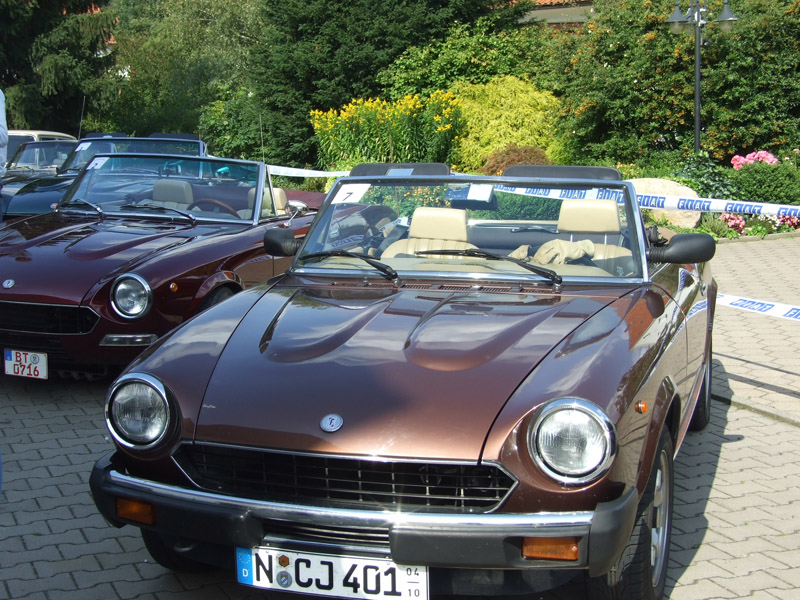 fiat spider treffen 2007 oldtimer sportcars. Black Bedroom Furniture Sets. Home Design Ideas